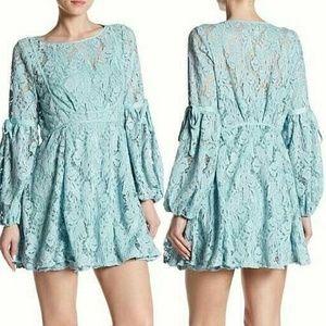 Free People Ruby Lace Mini Dress